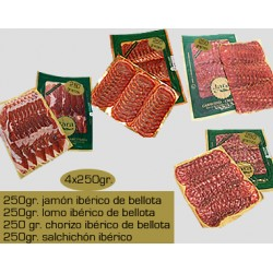 Pack de ibéricos de bellota