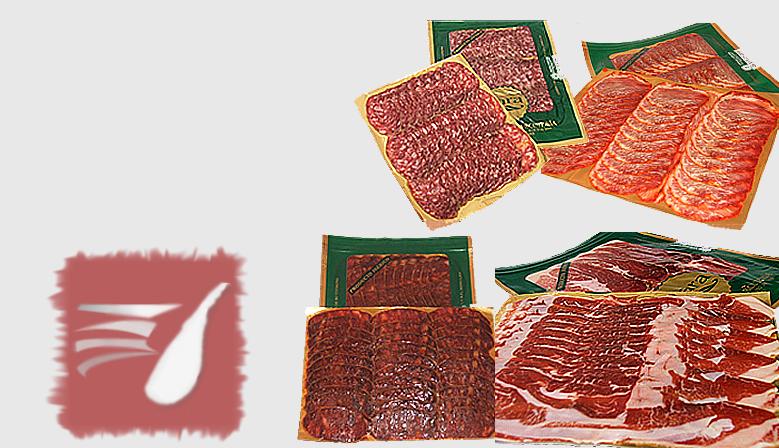 Compra loncheados ibéricos de Salamanca envasados al vacío